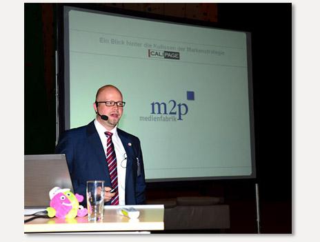 Bernd Gramß von der m2p.