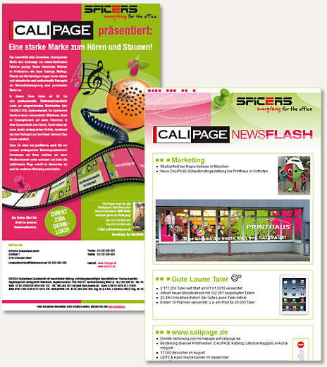 CALIPAGE Newsletter
